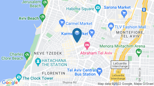 Townhouse Residence by Brown Hotels Map