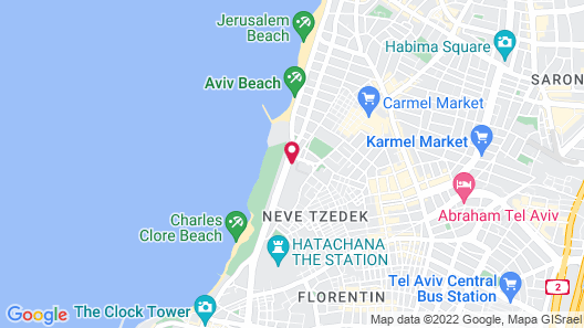 David InterContinental Tel Aviv, an IHG Hotel Map