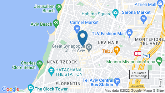 Fabric Hotel - An Atlas Boutique Hotel Map