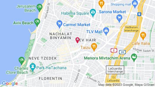The Norman Tel Aviv Map