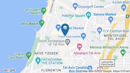 Hotel 75 Map