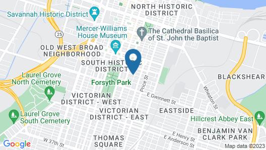 Azalea Inn and Villas Map
