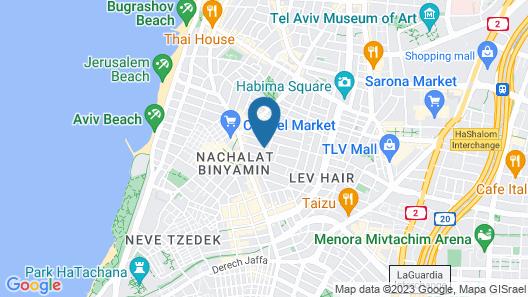 Shenkin Hotel Map