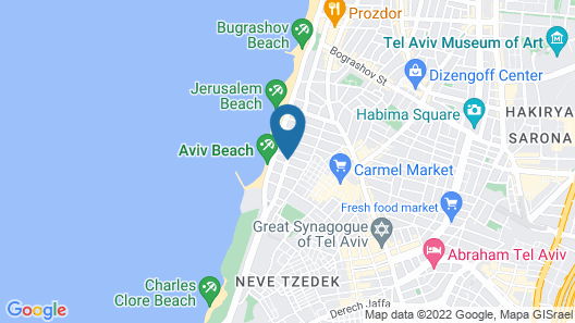Royal Beach Tel Aviv Map