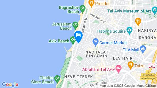 Royal Beach Tel Aviv Map