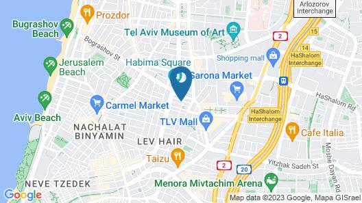 Hotel B Berdichevsky Map