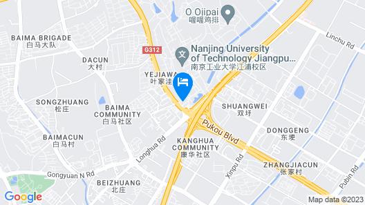 Longhua Hotel - Nanjing Map
