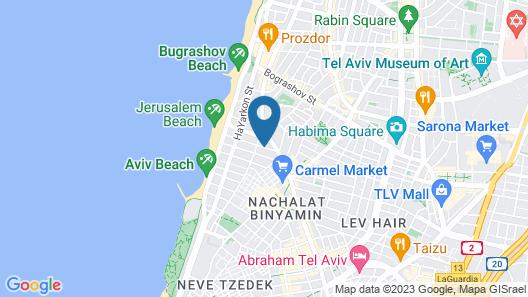 BEER GARDEN HOTEL Map