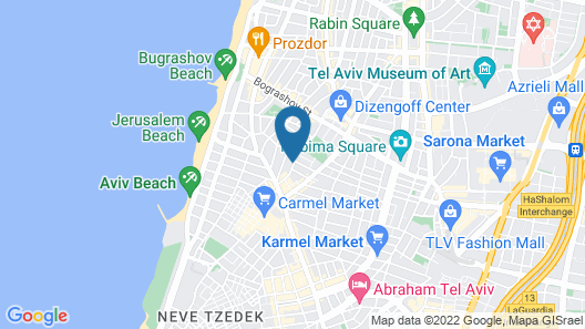 Hotel Saul Map