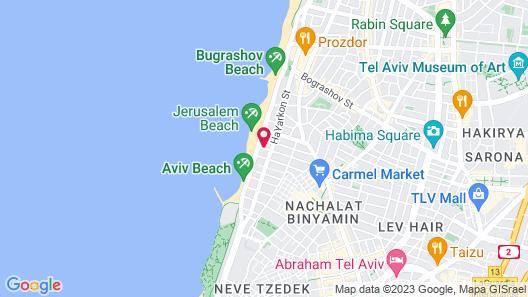 Abratel Suites Hotel Map