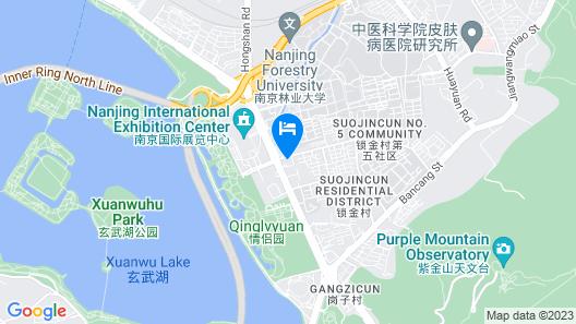 Jinling Star Hotel - Nanjing Map