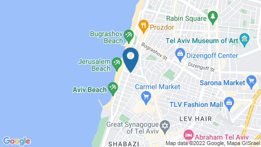 The Bell Boutique Hotel Map