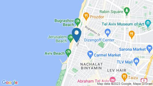 Liber Seashore Suites Map