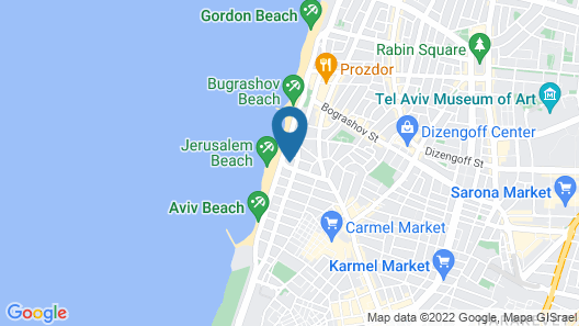 Opera Tel Aviv by Herbert Samuel Map
