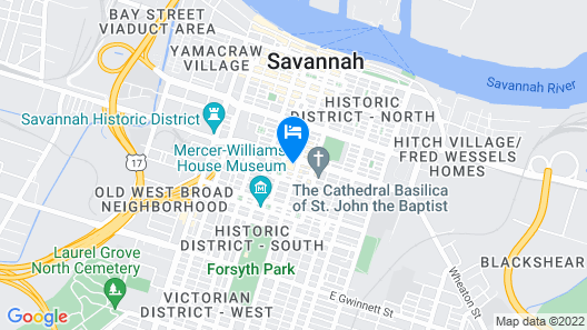 The Desoto Savannah Map