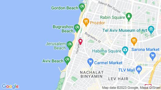 Hotel Gilgal Map