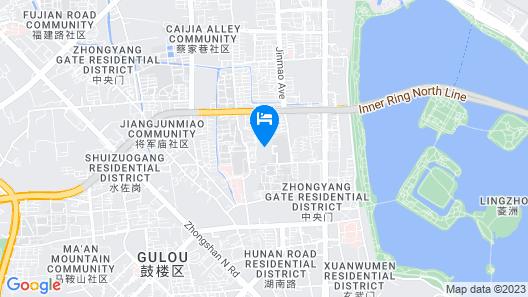 The Westin Nanjing Xuanwu Lake Map