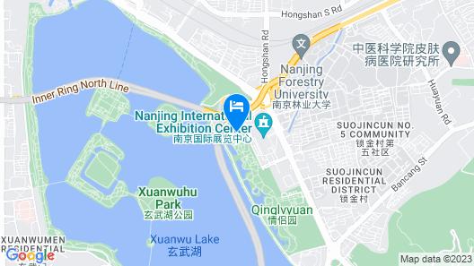 New Century Hotel - Nanjing Map