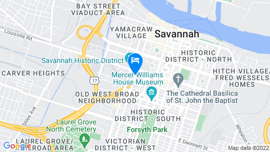TRYP by Wyndham Savannah Downtown/Historic District Map