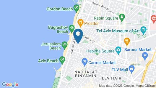Ben Yehuda Studios - by Comfort Zone TLV Map