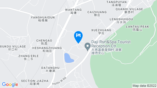 Daji Resort and Spa Village - Nanjing Map