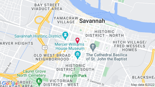 The Stephen Williams House Map