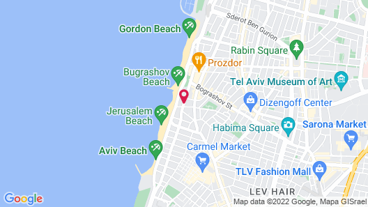 Brown Beach House by Brown Hotels Map