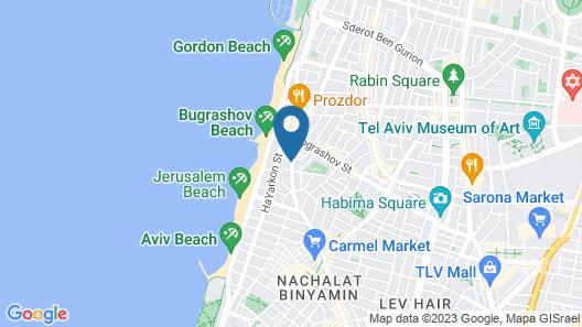Loginn - Ben Yehuda Studios  Map