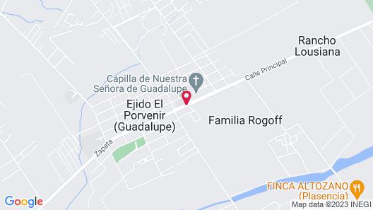 La Estancia by Finca Tré Map