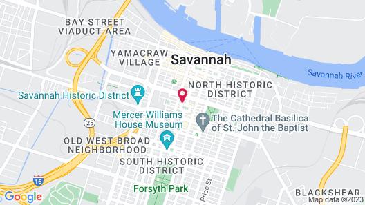 Foley House Inn Map