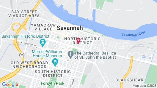 17Hundred90 Inn and Restaurant Map