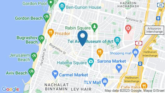Roza apartment Map