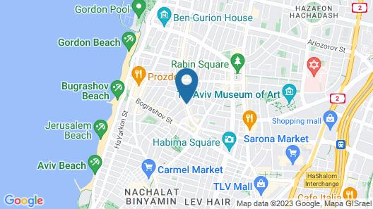 Cucu Hotel Map