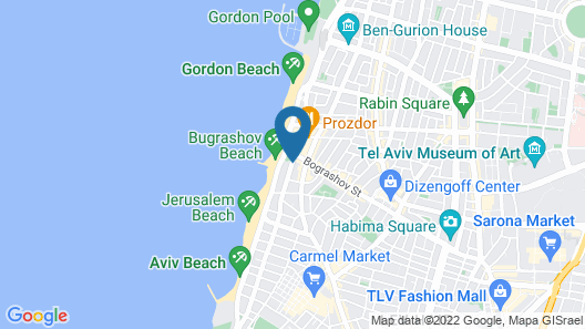The Lusky- Great Small Hotel Map