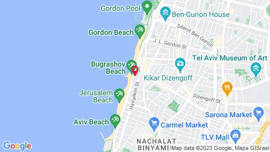 Orchid Tel Aviv Map