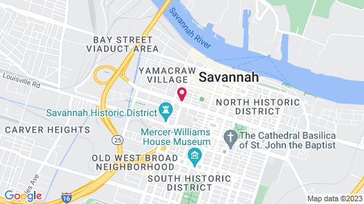 SpringHill Suites Savannah Downtown / Historic District Map