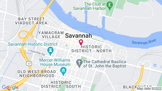 The Marshall House,Historic Inns of Savannah Collection Map
