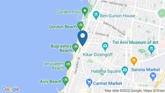 Dream Beach TLV Map