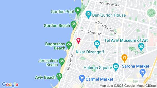 Mendeli Street Hotel Map