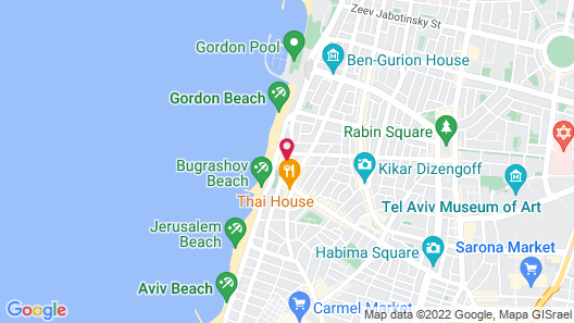 Dan Tel Aviv Map