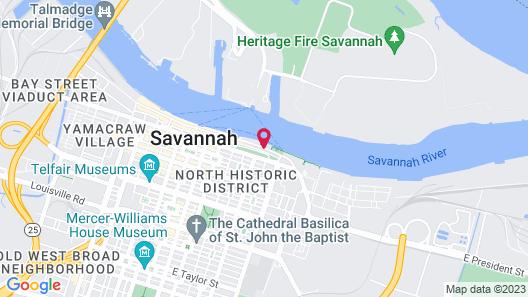 Olde Harbour Inn,Historic Inns of Savannah Collection Map