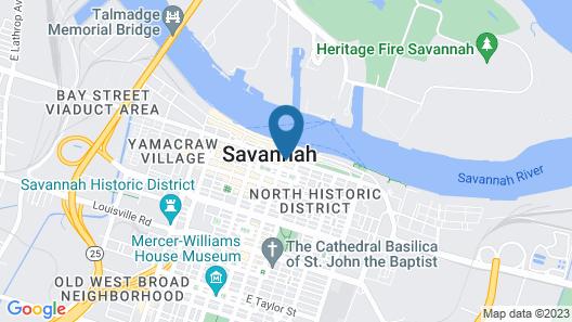 River Street Inn Map