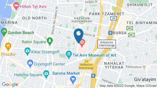 Vital Hotel, Tel Aviv-Business Boutique Hotel Map