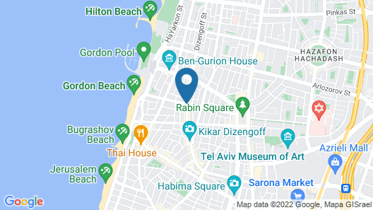 130 Rock Apartments Map
