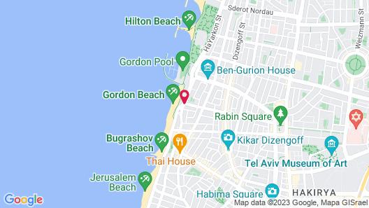 Renaissance Tel Aviv Map