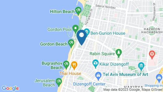Carmel Market Apartments By Master  Map