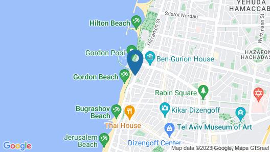Crowne Plaza Tel Aviv Beach, an IHG Hotel Map