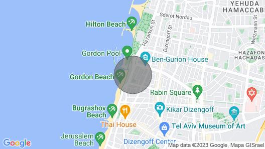 Amazing Beach Apartment Map