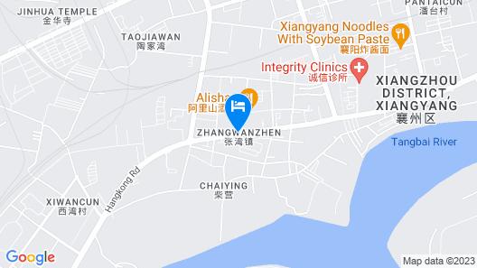 Celebrity City Hotel - Xiangzhou Map
