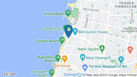 Leonardo Beach Tel Aviv Map